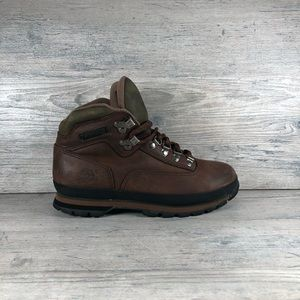 Women's Timberland  Leather Hiking Boots Sz 8M